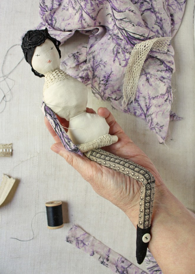 improvisational doll making
