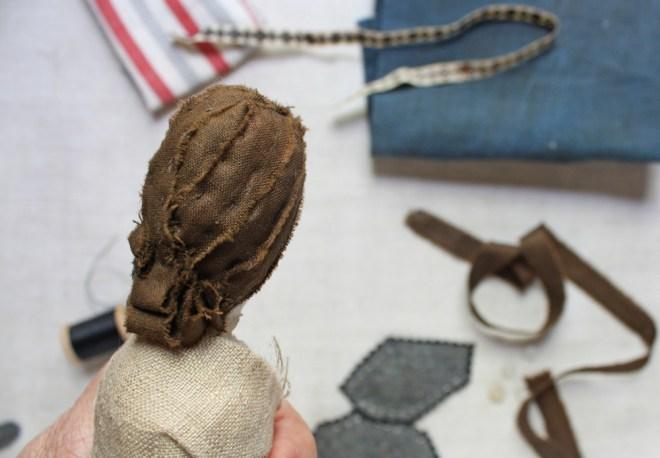 pleated doll hair