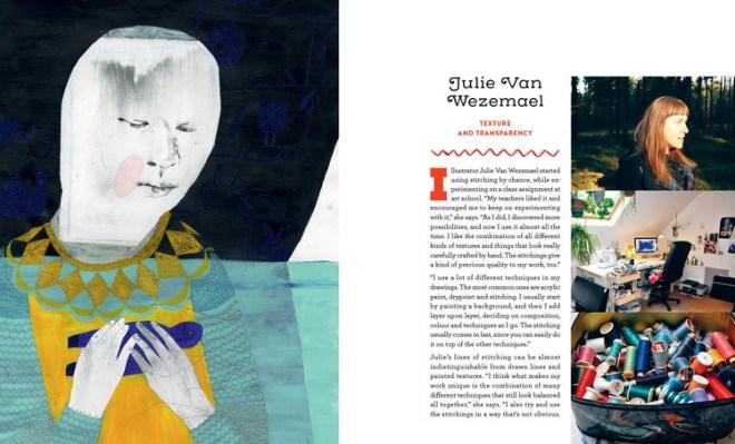 stitch illo : julie van wezemael