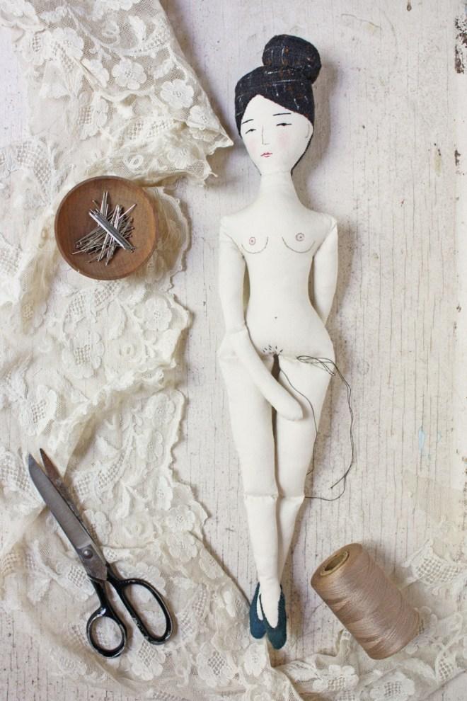 naked rag doll : nora