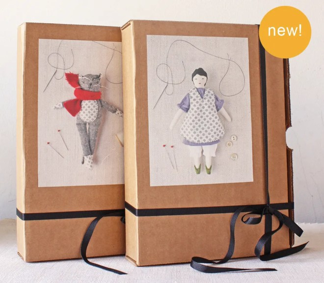 ann wood handmade : doll kits