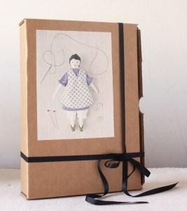 tiny rag doll sewing kit