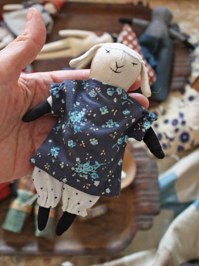 lamb rag doll