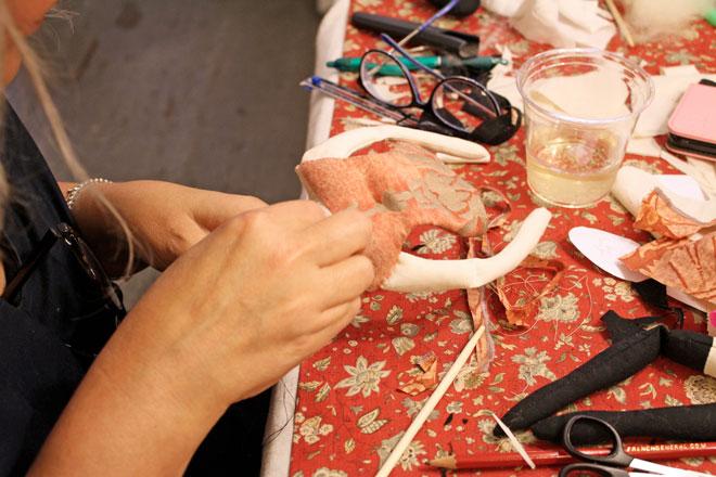 ann wood rag doll workshop
