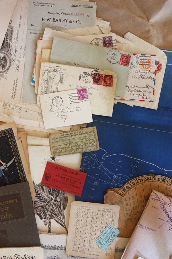 ephemera collection - letters