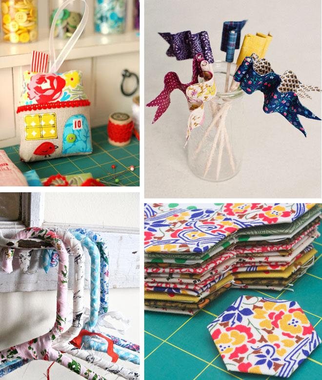 craft projects made from scraps