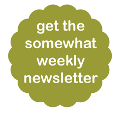 the somewhat weekly newsletter