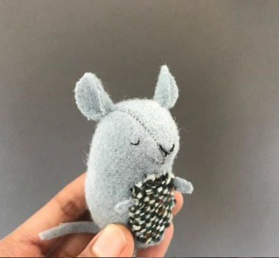 free felt mouse pattern