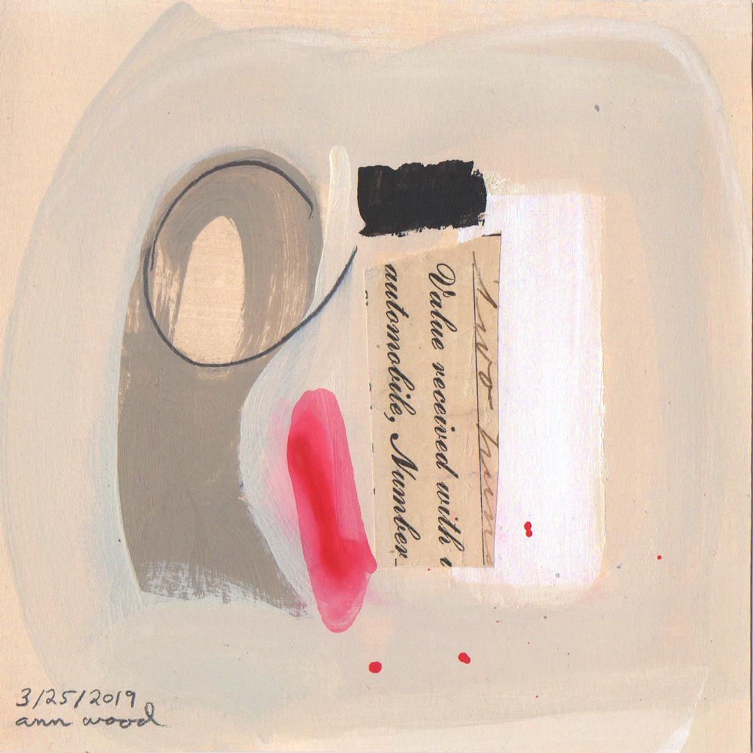ann wood : painting