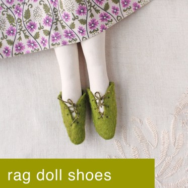 doll shoe tutorial