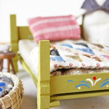 doll house bed tutorial