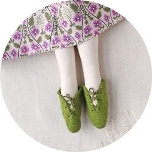 doll shoe diy