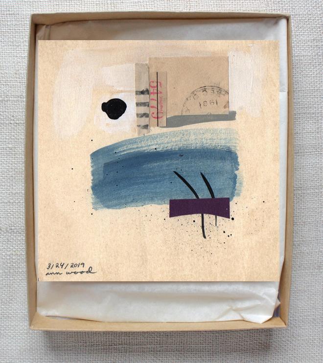 ann wood : collage