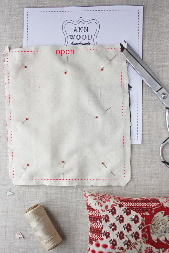 doll house size quilt tutorial