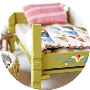 clothespin doll bed diy