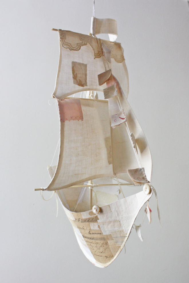 antique paper ship workshop