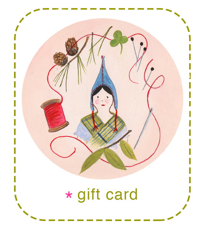 ann wood handmade gift card