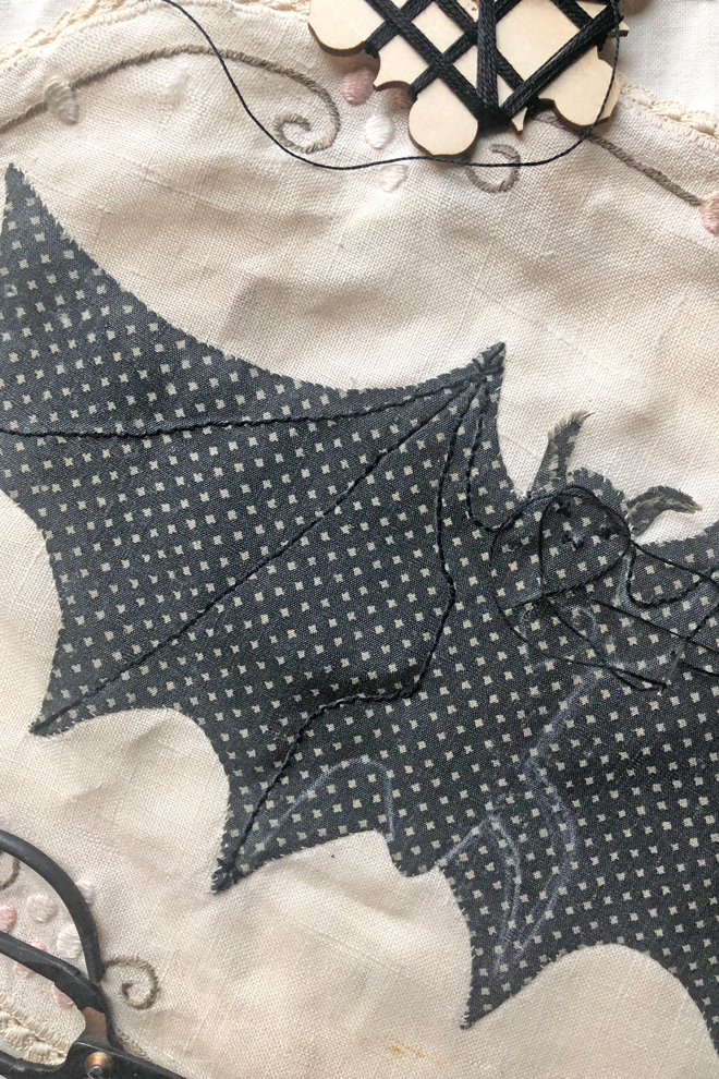 applique bat tutorial