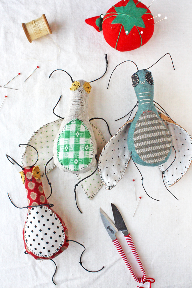 free bug doll sewing pattern
