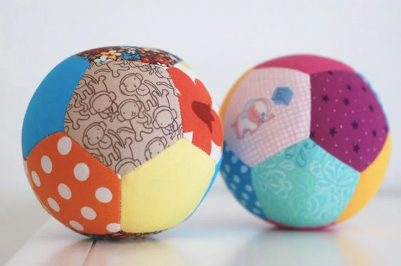 patchwork ball diy