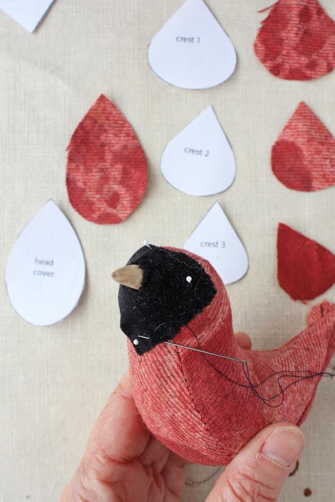 sew a cardinal