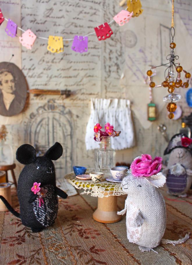 mouse house diy
