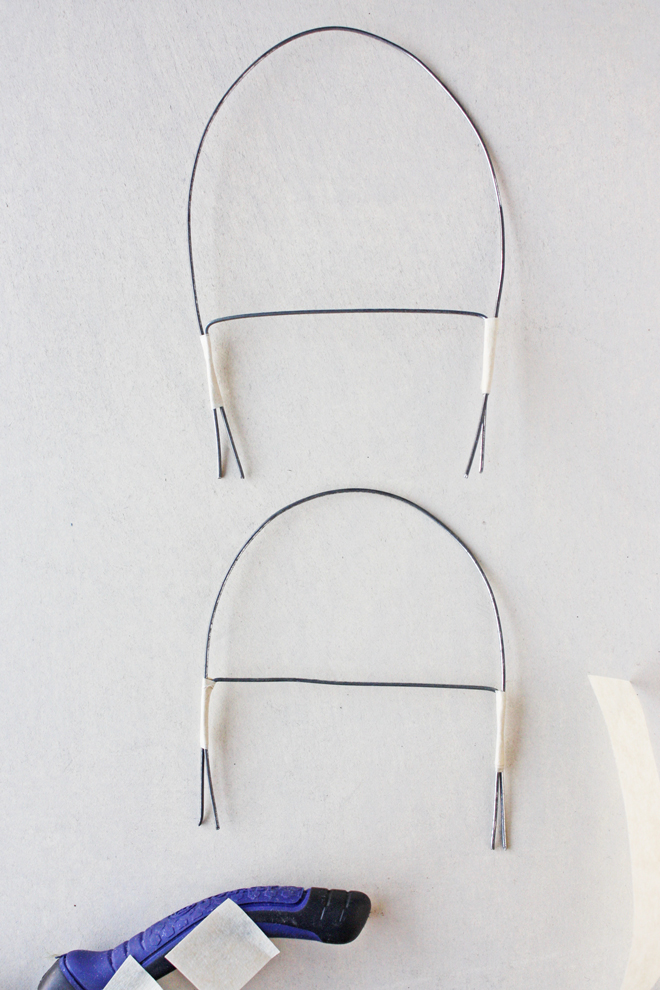 wire doll bed diy