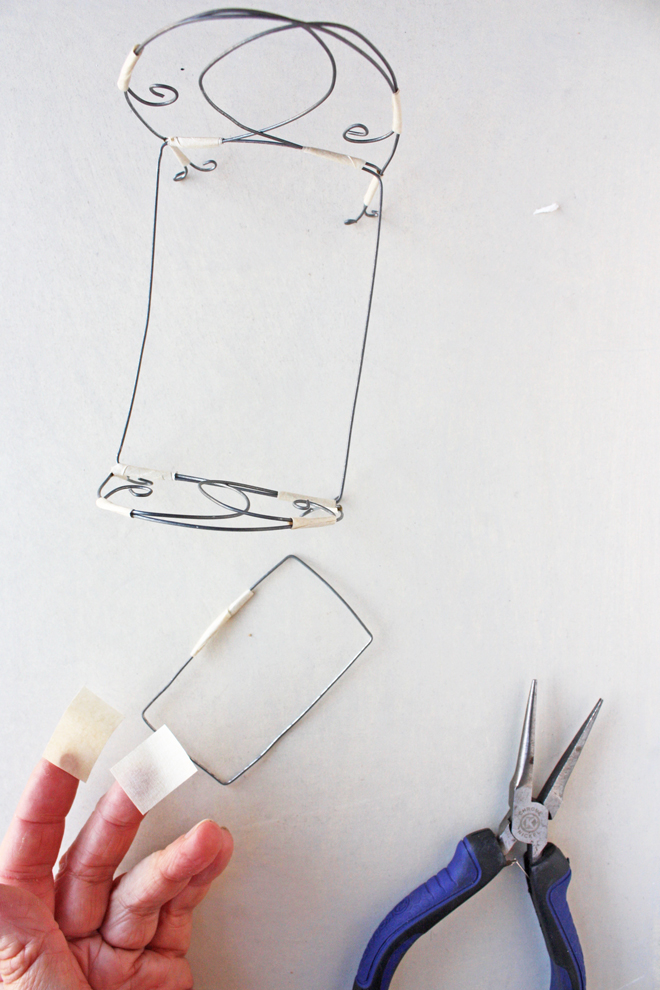 wire doll house furniture tutorial