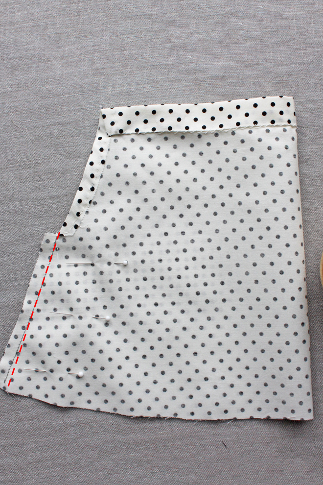 easy doll skirt diy