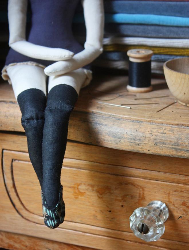 rag doll slipper diy