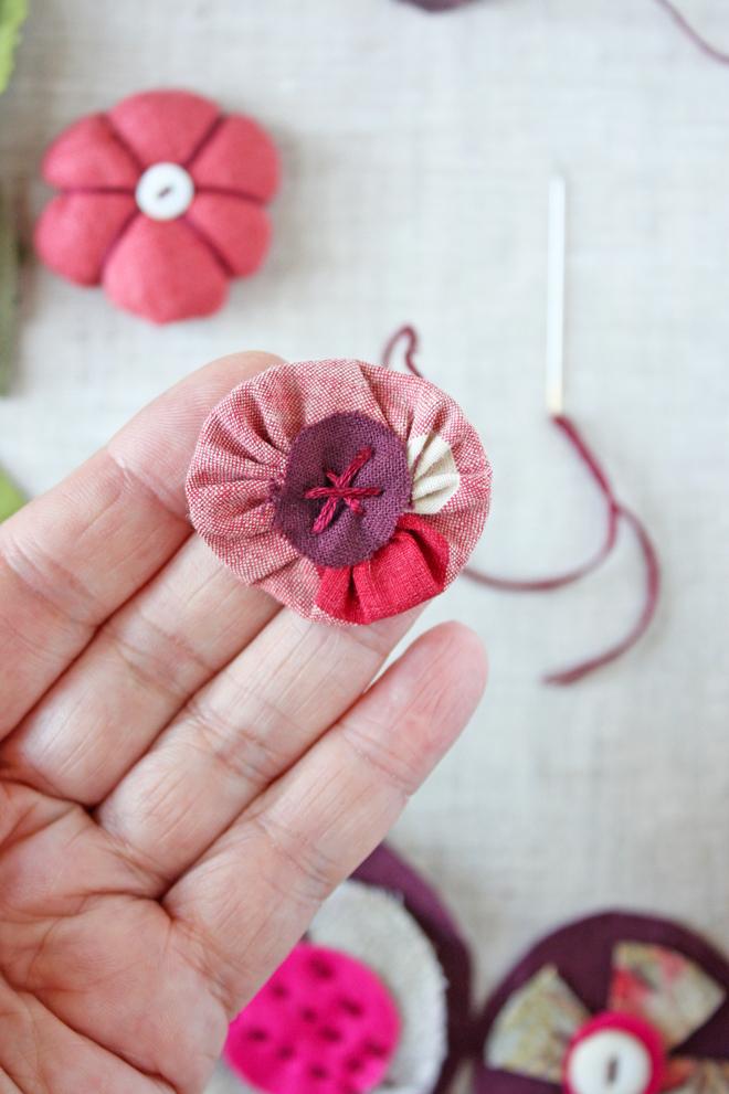 scrap flower