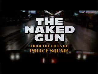 image: The naked gun movie title screen