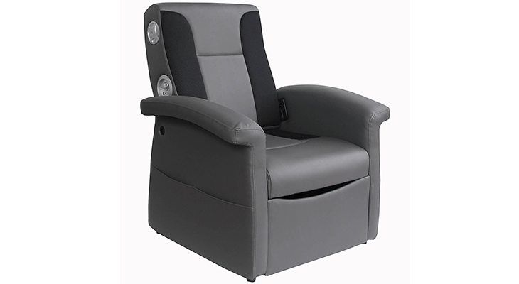 X Rocker Storage Ottoman Sound Chair