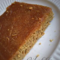 Peanut Butter Oat Cake – Crossover!