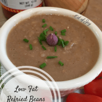 Low Fat Refried Beans – Instant Pot Style!