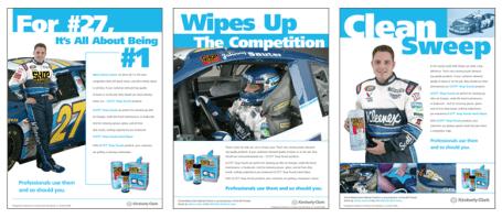 Scott Shop Towels Racer Ads