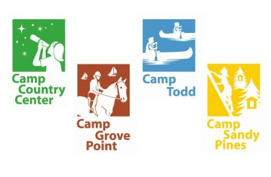Girl Scouts Camp Icons