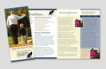 Expand Delaware Hospice Brochure