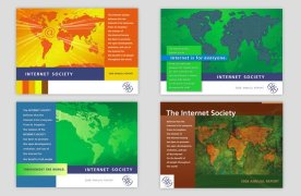 Internet Society Financial Annual 2008 4-continent covers