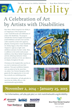 Art Ability 2014 Poster