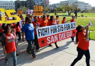 Fight For $15 San Diego Event