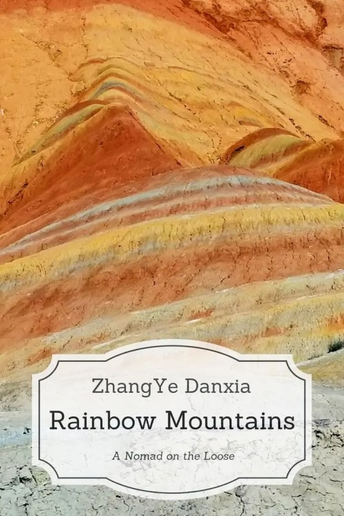 ZhangYe Danxia Rainbow Mountains China