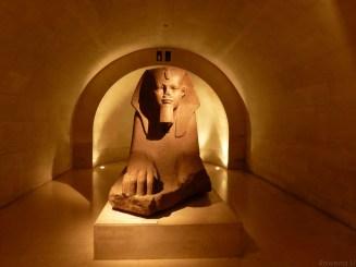Paris museum sphinx