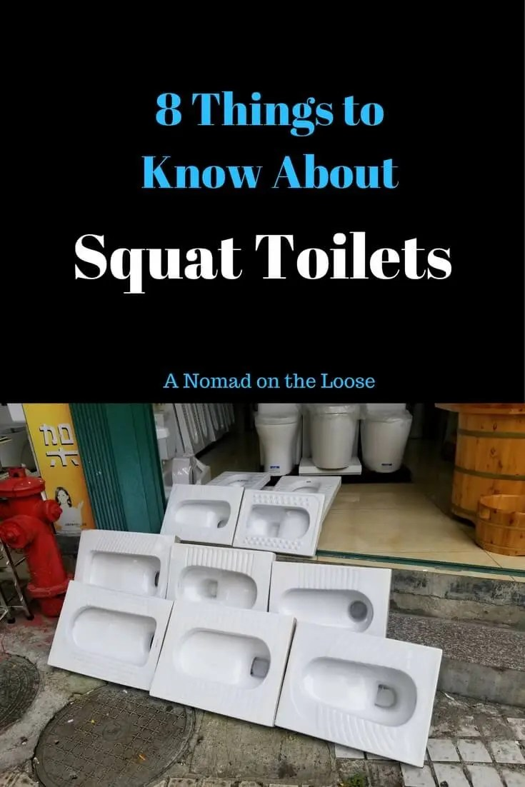 Squat toilets things to know