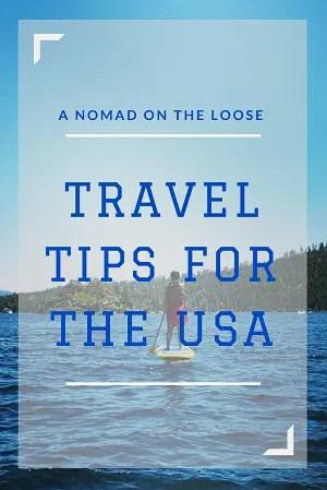 United States travel tips