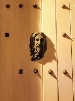 modern cartagena door knockers