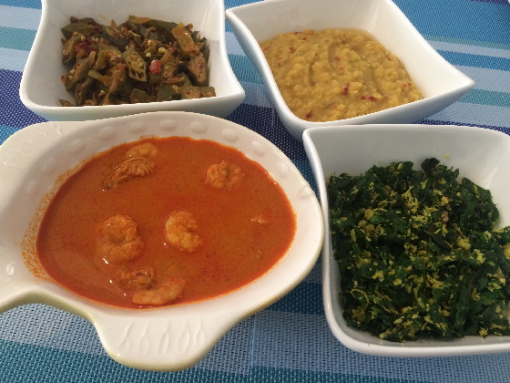 okra thel meal