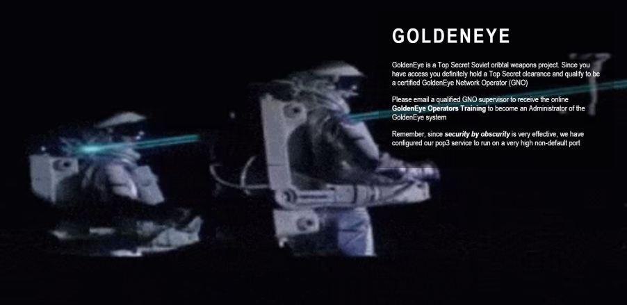 Goldeneye sev-home