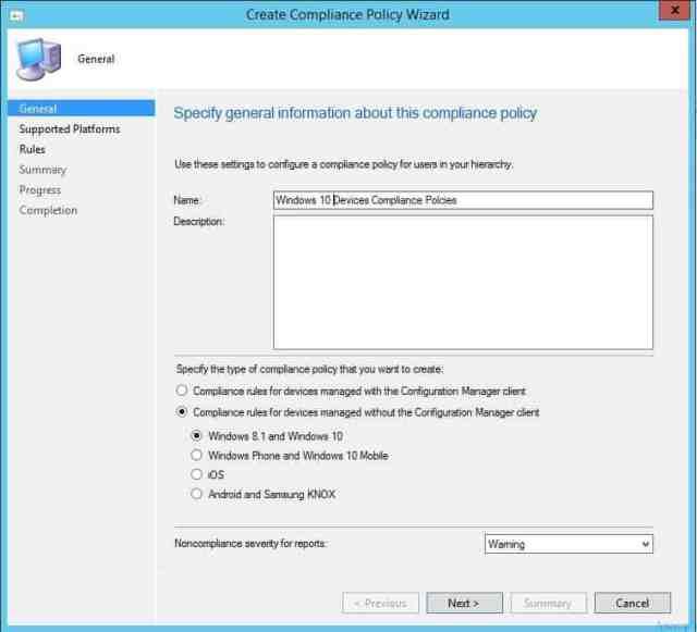 Intune_Vs_SCCM_Compliance_Policies