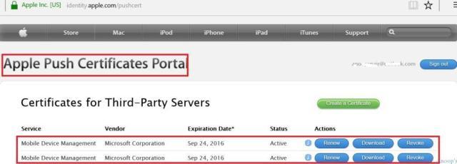SCCM_Apple_Push_Certificates